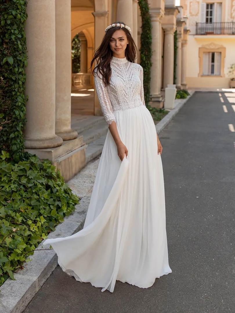 Pronovias Mimosa Wedding Dress