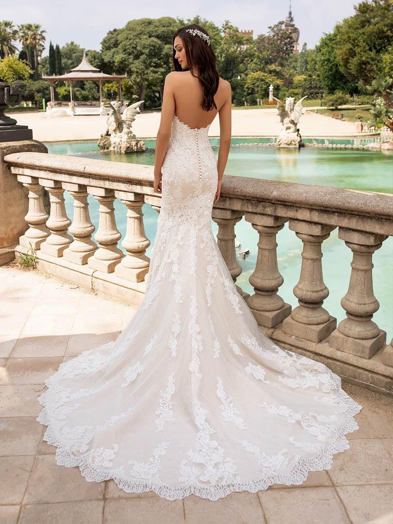 Pronovias Beaded Princia Wedding Dress