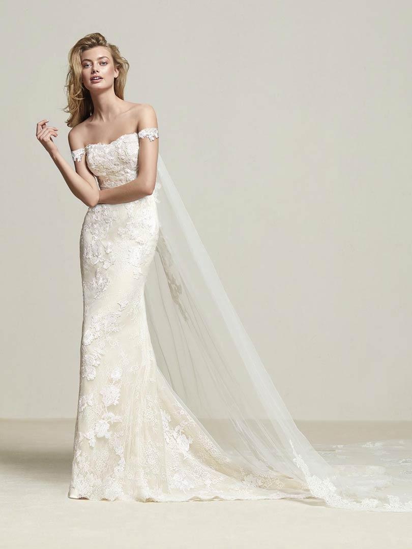 Pronovias Dria Wedding Dress