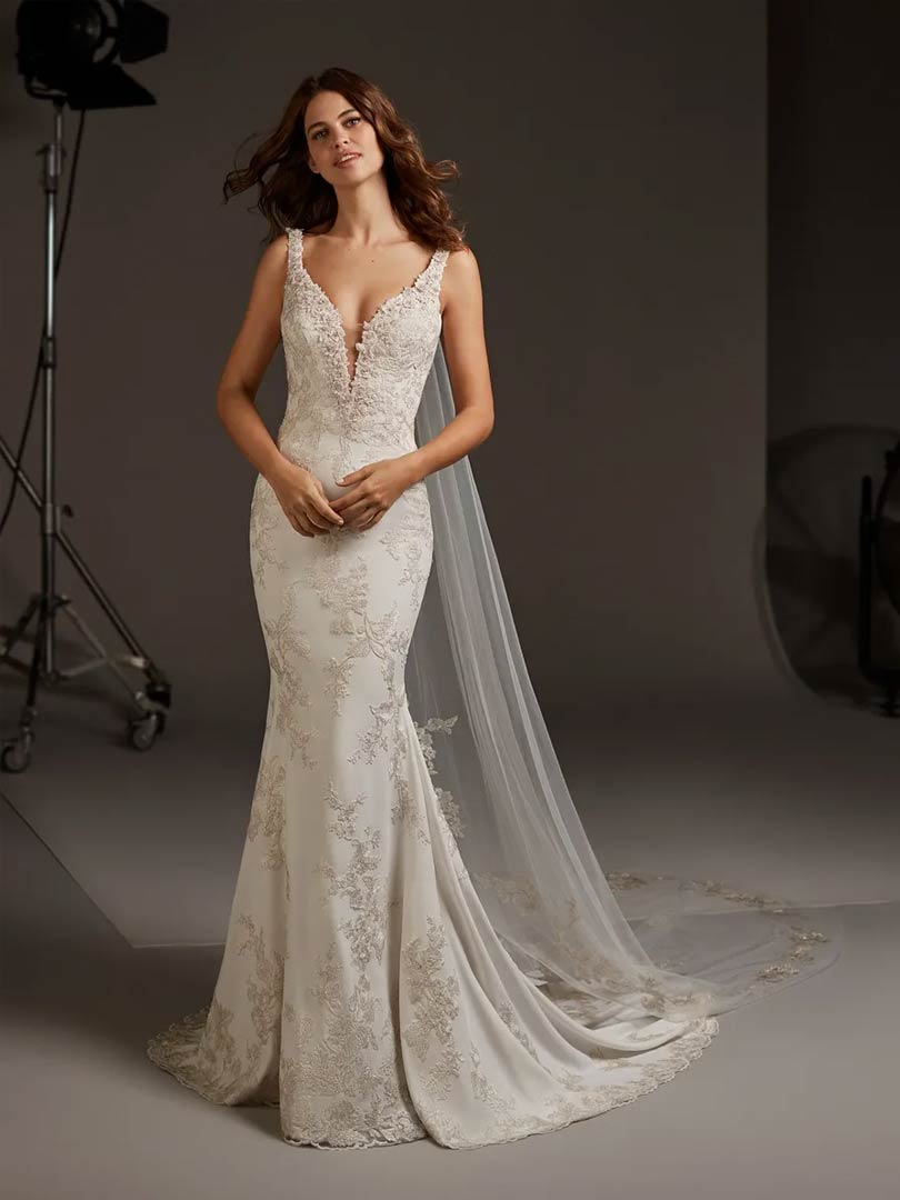 Pronovias Auriga Wedding Dress