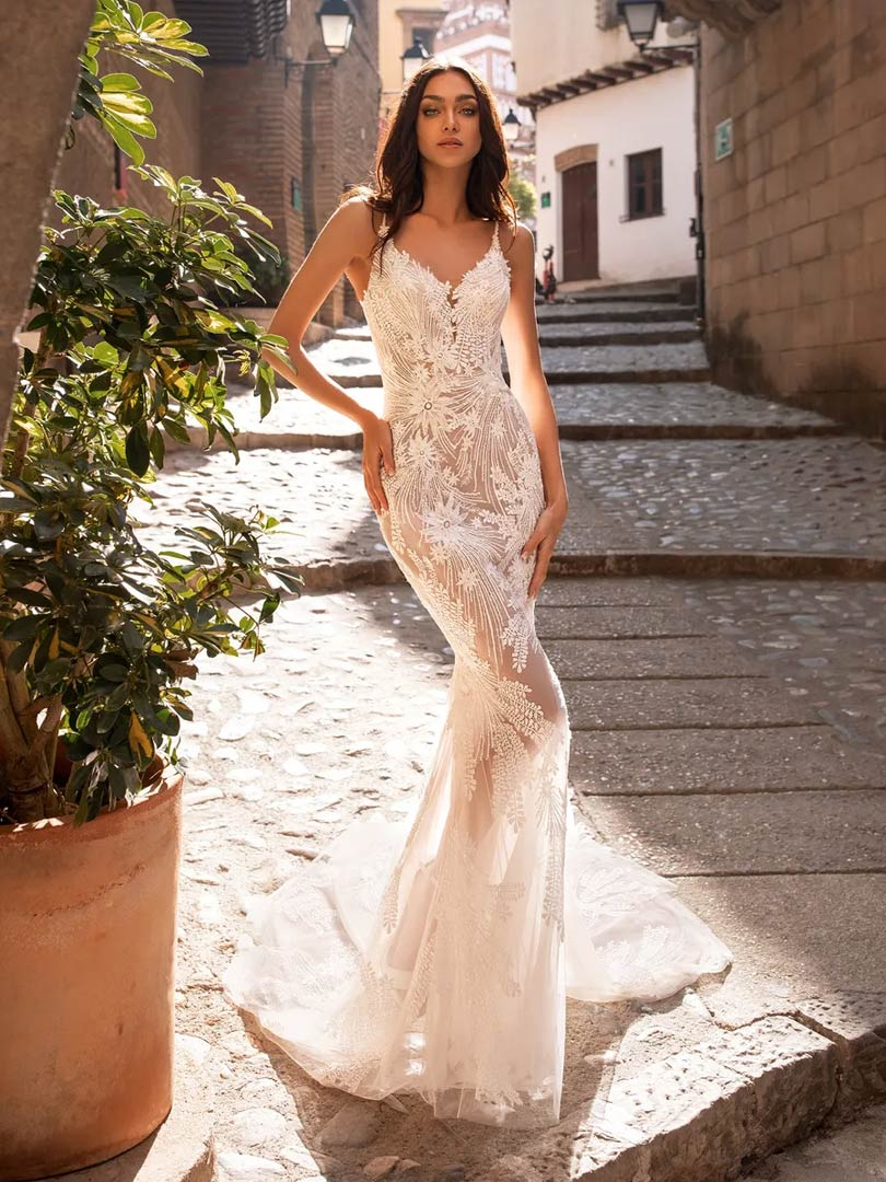 Pronovias Albirox Wedding Dress