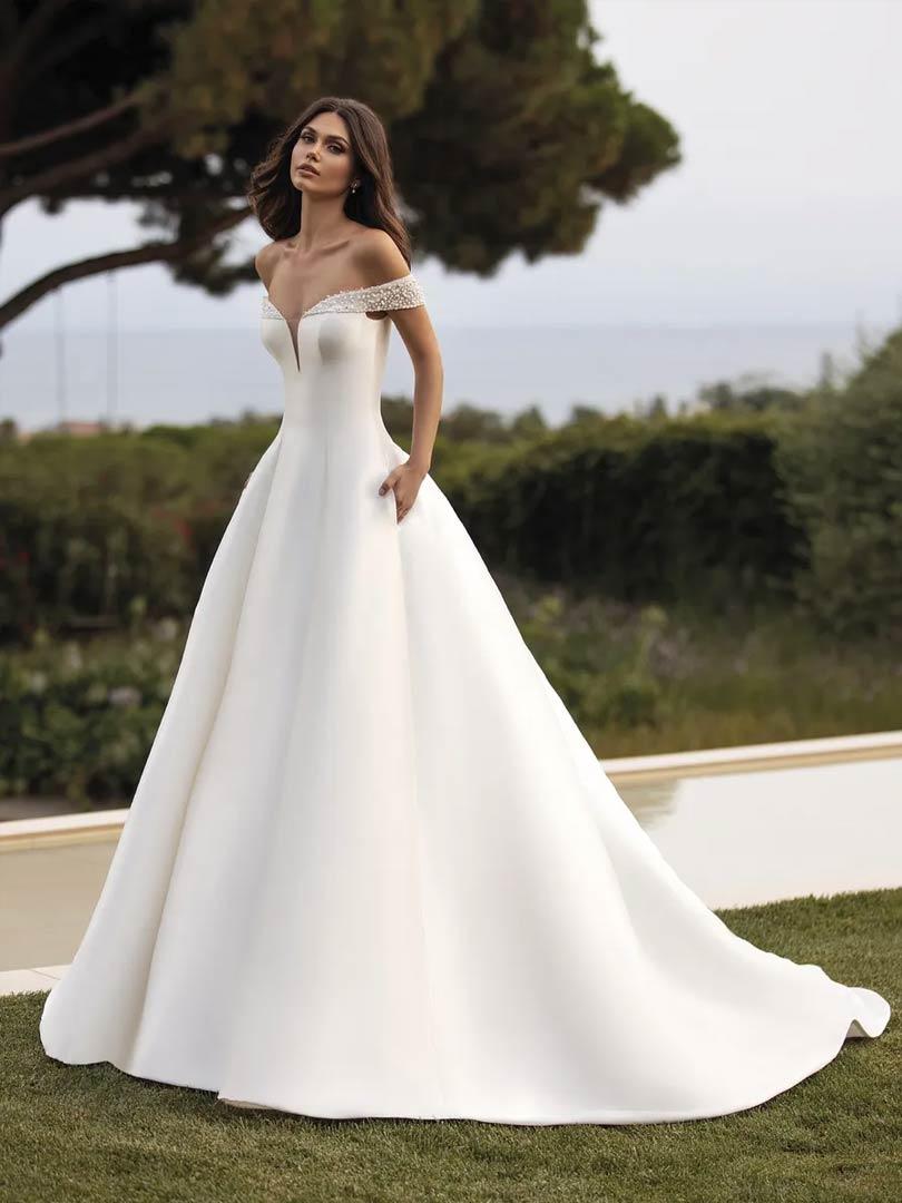 Pronovias Rea Wedding Dress