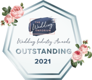 Windsor and Eton Brides awarded Outstanding Award 2021 from the Wedding Emporium